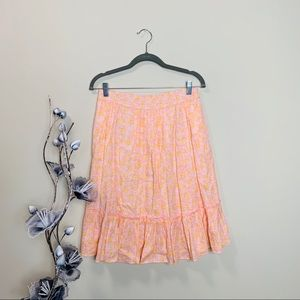 Lilly Pulitzer Tiered Long Skirt